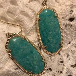 """Kendra Scott Jewelry - Kendra Scott """"Elle"""" earrings in Amazonite"""